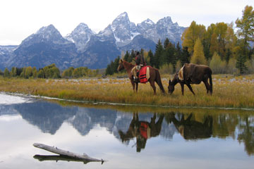 The first fur trappers enter Jackson Hole.