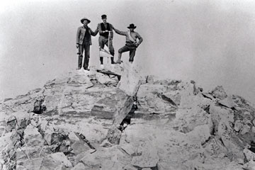 First undisputed ascent of the Grand Teton.