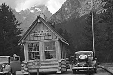 Congress creates Grand Teton National Park.