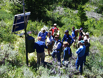 Moose Ponds Seismic Station